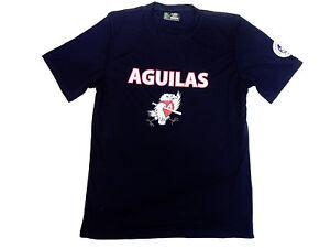 Aguilas de Mexicali  Dark Blue Baseball Jersey _ 100% Polyester_Made in USA_