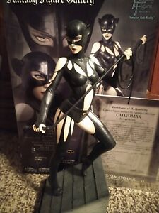 CATWOMAN By Luis Royo 1/6 Scale Fantasy Figure Gallery Statue 646/1000 VIRGIN