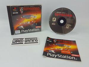 Star Trek Invasion - PS1 (Sony Playstation 1) Complete (PAL) Black Label