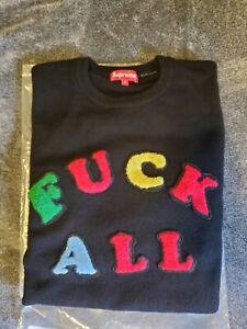Supreme Jaime Reid F**k All Sweater