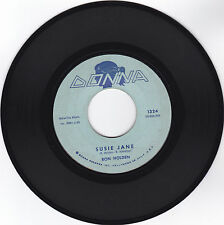 RON HOLDEN-DONNA 1324 R&B TEEN ROCKER 45RPM SUSIE JANE /GEE BUT I'M LONESOME VG+