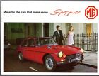 MG 1968-69 UK Market Sales Brochure Midget 1300 MGB MGC