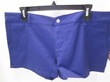 Purple Cotton Short Shorts by Dickies, Junior Size 13, NWT