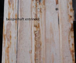 Kieferbretter,Schalung 22mm dick,Windschutz,Bretter mit Rinde,je Stück 2,16