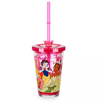 Disney Authentic Princess Tumbler Kids Drink Cup New Aurora Tiana Jasmine Belle