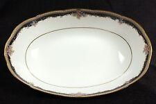 Vintage Noritake Palais Royal 9 5/8 inch Oval Vegetable Bowl Bone-China