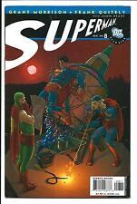 ALL STAR SUPERMAN # 8 (DC COMICS, GRANT MORRISON, FRANK QUITELY, AUG 2007) VFN