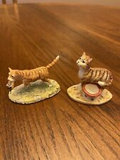 Lowell Davis Cat & Mouse 2 Figurines Schmid Scotland
