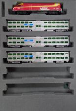 Kato 106-8701-KB2 N Rock Island MP36PH & Bi-Level Collector's Set (Set of 4)