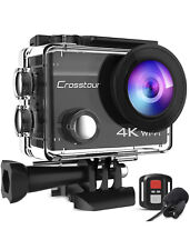 CROSSTOUR 4K 20MP Wi-Fi Action Camera with Accessories CT8500