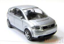 RIETZE Audi A2 silber-metallic Sonderausgabe mit Audi-Broschüre Scale 1:87 - OVP