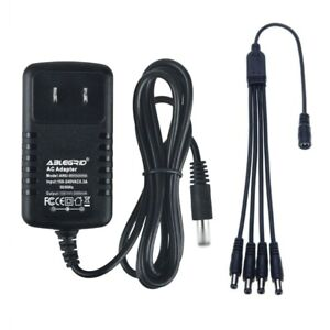 AC Adapter For Lemax # 74707 4.5 VOLT Spooky Town Accessory With 4 Output Jacks