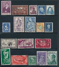 1922 - 1940 Ireland (32) USED; AS SHOWN; CV $83