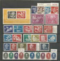 DDR 1950 postfrisch  Jahrgang  251-55