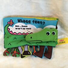 Melissa & Doug K's Kids Who's Feet are these fabric book