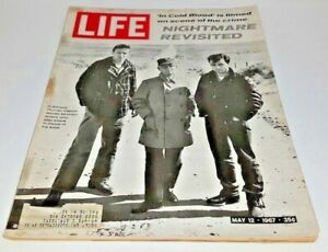 May 12, 1967 LIFE Magazine IN COLD BLOOD, Old advertising ads FREE SHIPPING 5 13