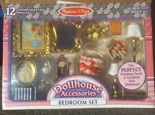 Melissa & Doug 12 Piece Bedroom Set NIB