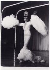 Joséphine Baker Robe Photographie de Presse Vintage Argentique Originale