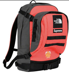 SUPREME/ THE NORTH FACE RTG BACKPACK OS BRIGHT RED, SS20 WEEK 3 (IN HAND) NEW