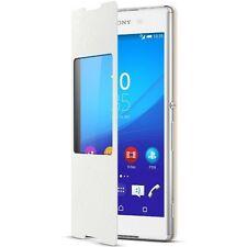 ORIGINALE Sony scr30 Stile Cover finestra per SONY XPERIA Z3 + Telefono Bianco-IMBALLATO