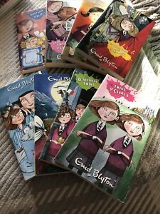 Enid Blyton Box Set of 8 Books There`s Trouble at St Clare`s Paperbacks