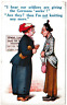 "WW1 Postcard Comic Humour ""German Socks"" Posted Brighton 1916"