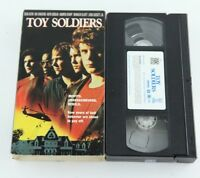 Toy Soldiers VHS Wil Wheaton Sean Astin 1991 Action Teen 90s Movie Videotape