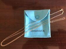 """Tiffany & Co Authentic Elsa Peretti 18K 30"""" Chain Necklace"""