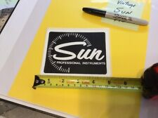SUN PROFESSIONAL INSTRUMENTS > VINTAGE COLLECTOR's > Tool Box STICKER > Official
