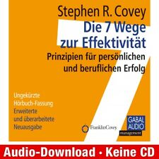 Hörbuch-Download (MP3) ★ S. R. Covey, A. Roethe: Die 7 Wege zur Effektivität