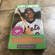 Gary Carter New York Mets Montreal Expos Sports Biography 1986 MLB VHS VIDEO NEW