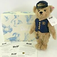 "Steiff Danbury Mint The Polar Express Conductor Teddy Bear 682315 12"" 2013"