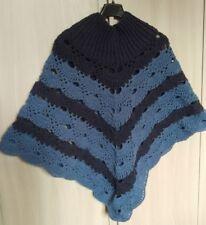 Poncho lana realizzato all'UNCINETTO - Fatto a mano Handmade