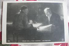 """CPA tableau Salon peinture 1906 Mac-Cameron """"Les habitués"""" scène café vin"""