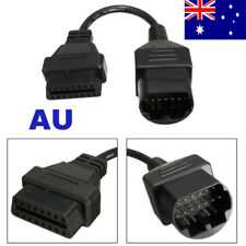 Diagnostic Connector Cable Fit Mazda Adapter 17Pin OBD1 to 16Pin OBD2 AU Stock