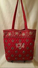 Vera Bradley Tote in Red Bandana Hard To Find Pattern!!