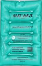 HEAT WAVE Instant Reusable Heat Pack - LARGE HW812 Pack- 8x12 inches-made in USA
