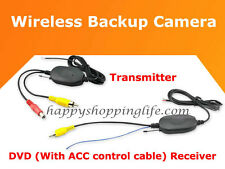 Wireless Rear View Camera - Backup Camera Adds on Funtion for Car Dash DVD Radio