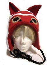Studio Ghibli Princess Mononoke Inspired Fleece Hat