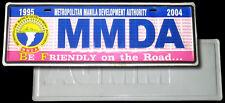 2004 METRO MANILA DEVELOPMENT AUTHORITY CAR PLATE