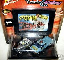 JL billboard MARVEL COMICS SPIDER-MAN FORD TRUCK PAIR