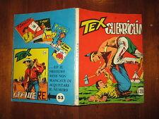 TEX N° 52 PRIMA SERIE LIRE 200 FEBBRAIO 1965 AUT 2926