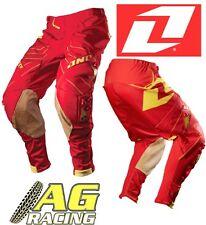 One Industries 2012 Defcon Rojo Motocross Enduro pantalón Pantalones Pantalones 34 pulgadas pulgadas
