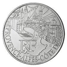 Pièce 10 euros 2011 monuments région PACA en argent issue de rouleau - neuf