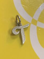 JAMES AVERY LARGE Sterling Silver INITIAL T CHARM
