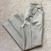 "FACONNABLE Women's Brown SOFT 100% WOOL Dress Pants Size 4 (Waist 28"")"