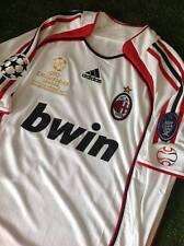 AC Milan final Athens 2007 retro shirt maglia size S M L XL INZAGHI MALDINI etc.