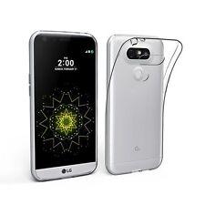 Cover Custodia TPU Morbida Trasparente LG G5 Ultra Slim Silicone Gel 0.33mm