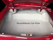 1965 Buick Riviera TRUNK MAT Grey Tweed Mat on Tar/Felt  65