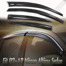Fit For  2007-2012 Nissan Altima Sedan Acrylic Window Visors 4Pc